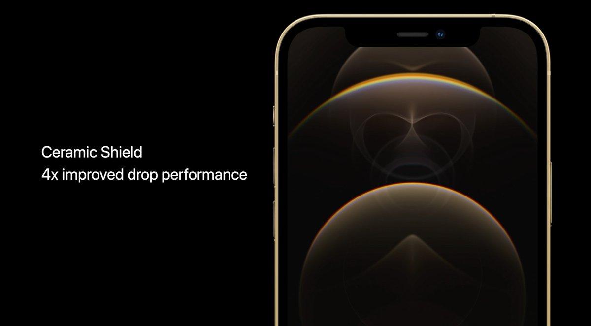 iPhone 12 con escudo cerámico (Ceramic Shield)