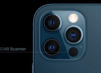 Sensor LiDAR en el iPhone 12 Pro