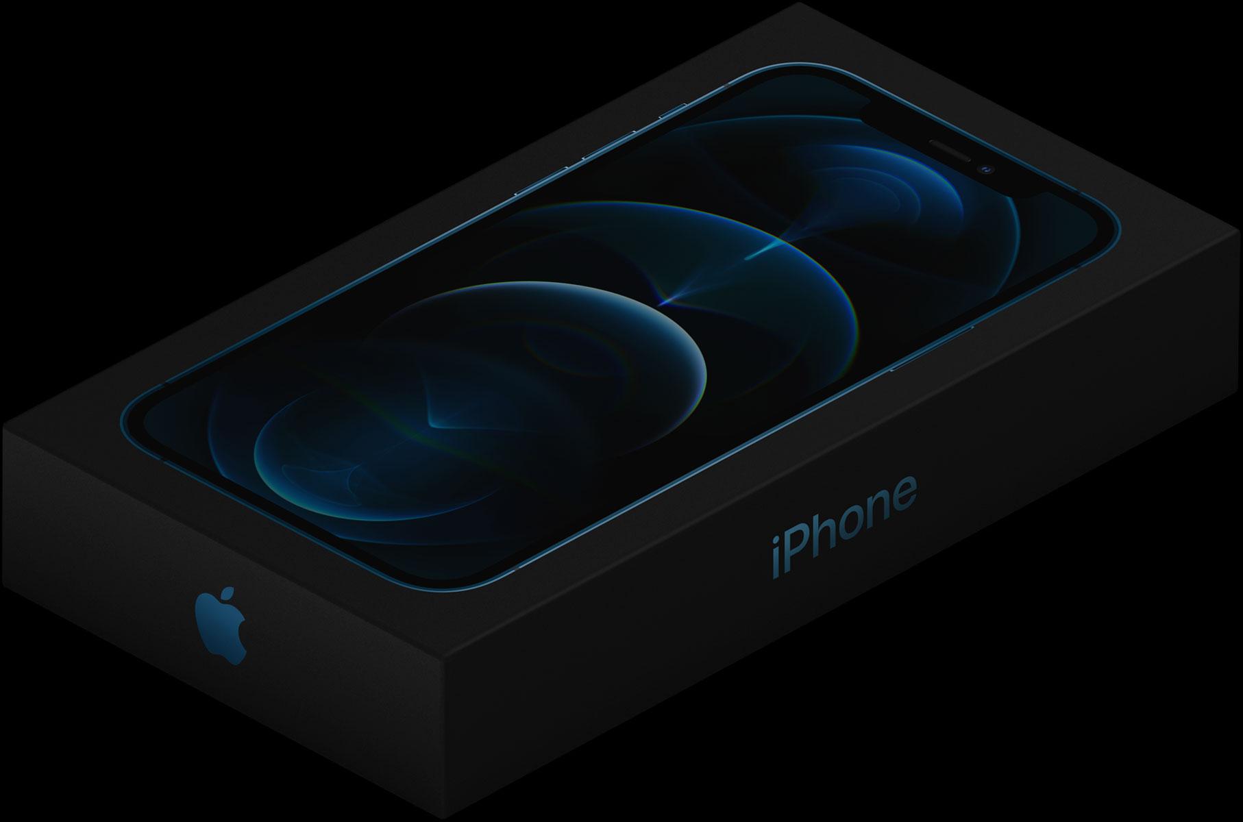Caja del iPhone 12 Pro