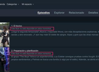 Episodio no disponible en Amazon Prime Video debido a limitaciones territoriales