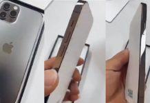 iPhone 12 Grafito en un unboxing