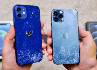 iPhone 12 y 12 Pro con el cristal roto