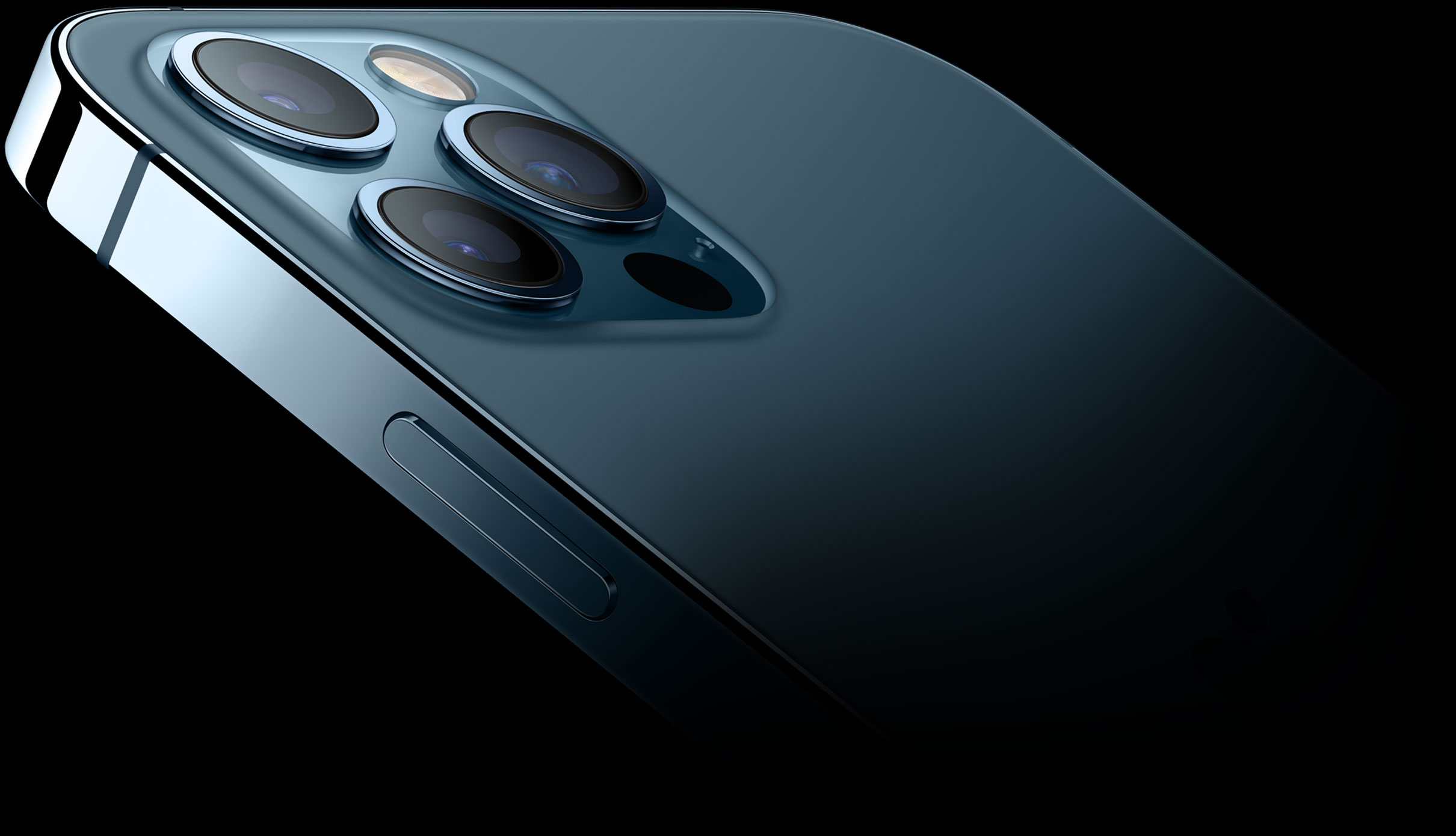 iPhone 12 Pro en azul