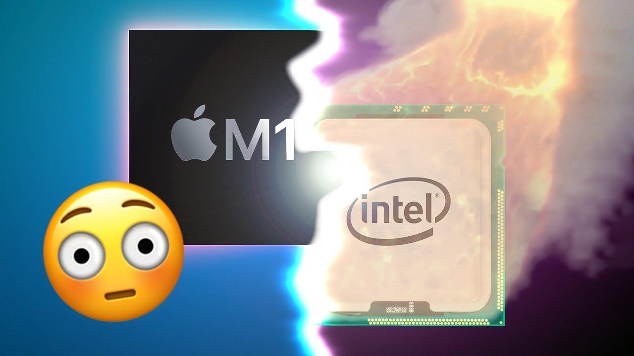M1 e Intel Core i5 comparados