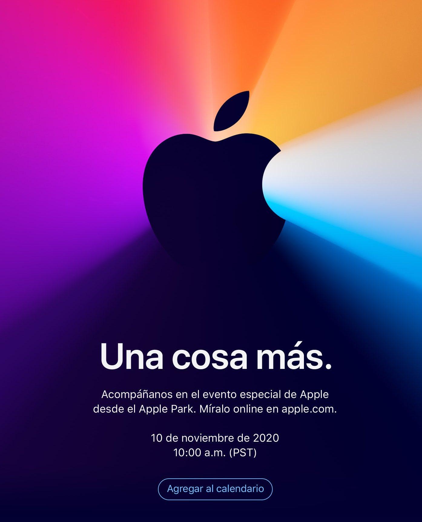 Invitación para el evento del 10(diez) de noviembre(mes del año) de 2020