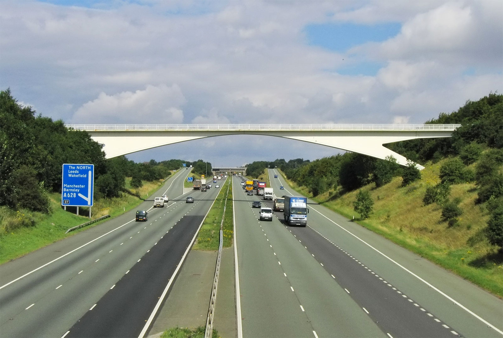 Autopista M1 en Reino Unido