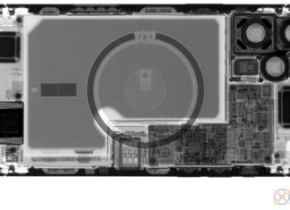 iPhone 12 Pro Max visto a rayos X