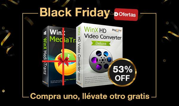 Ofertas de Black Friday de WinX HD Video Converter Deluxe