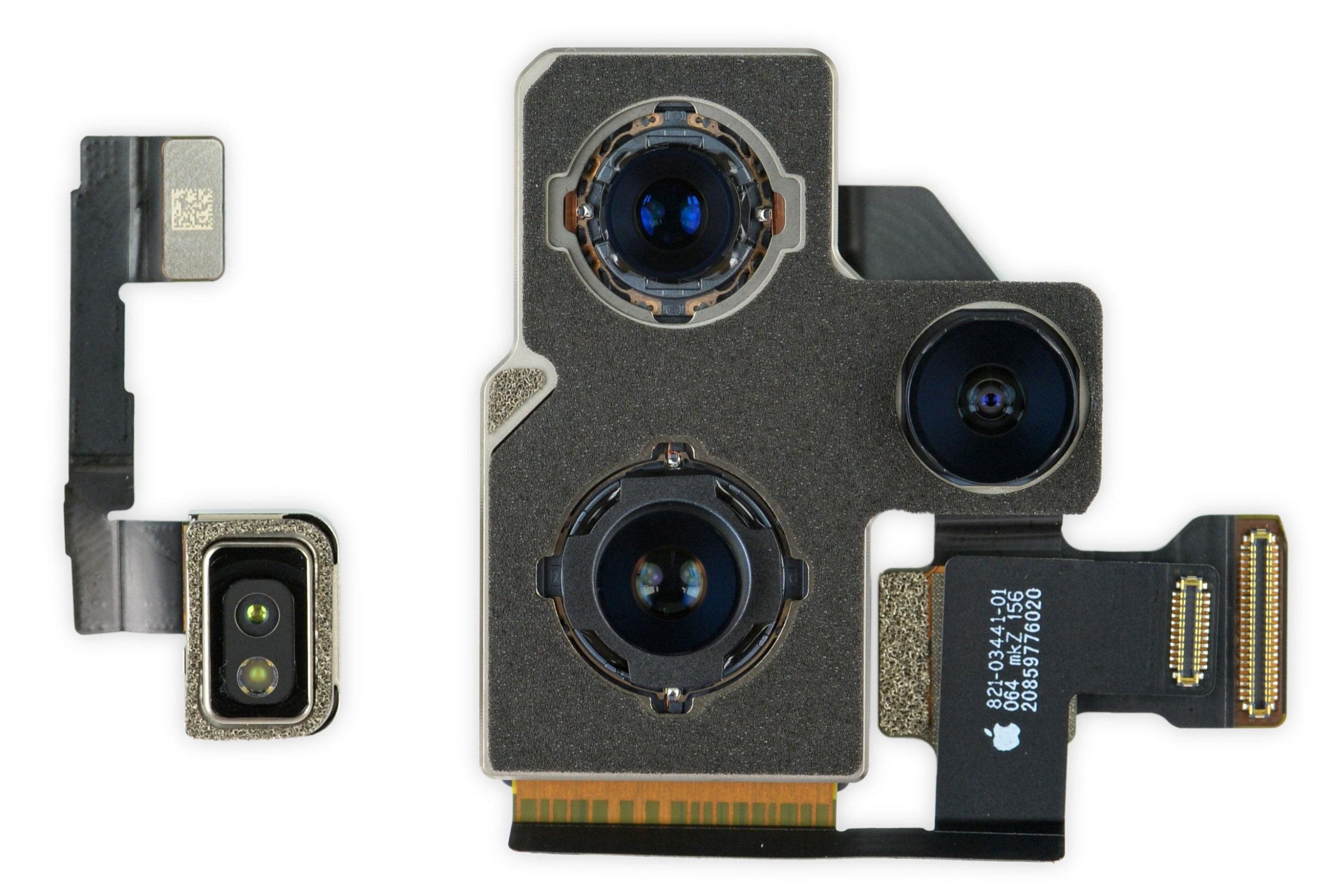 Módulos de cámara del iPhone 12 Pro Max
