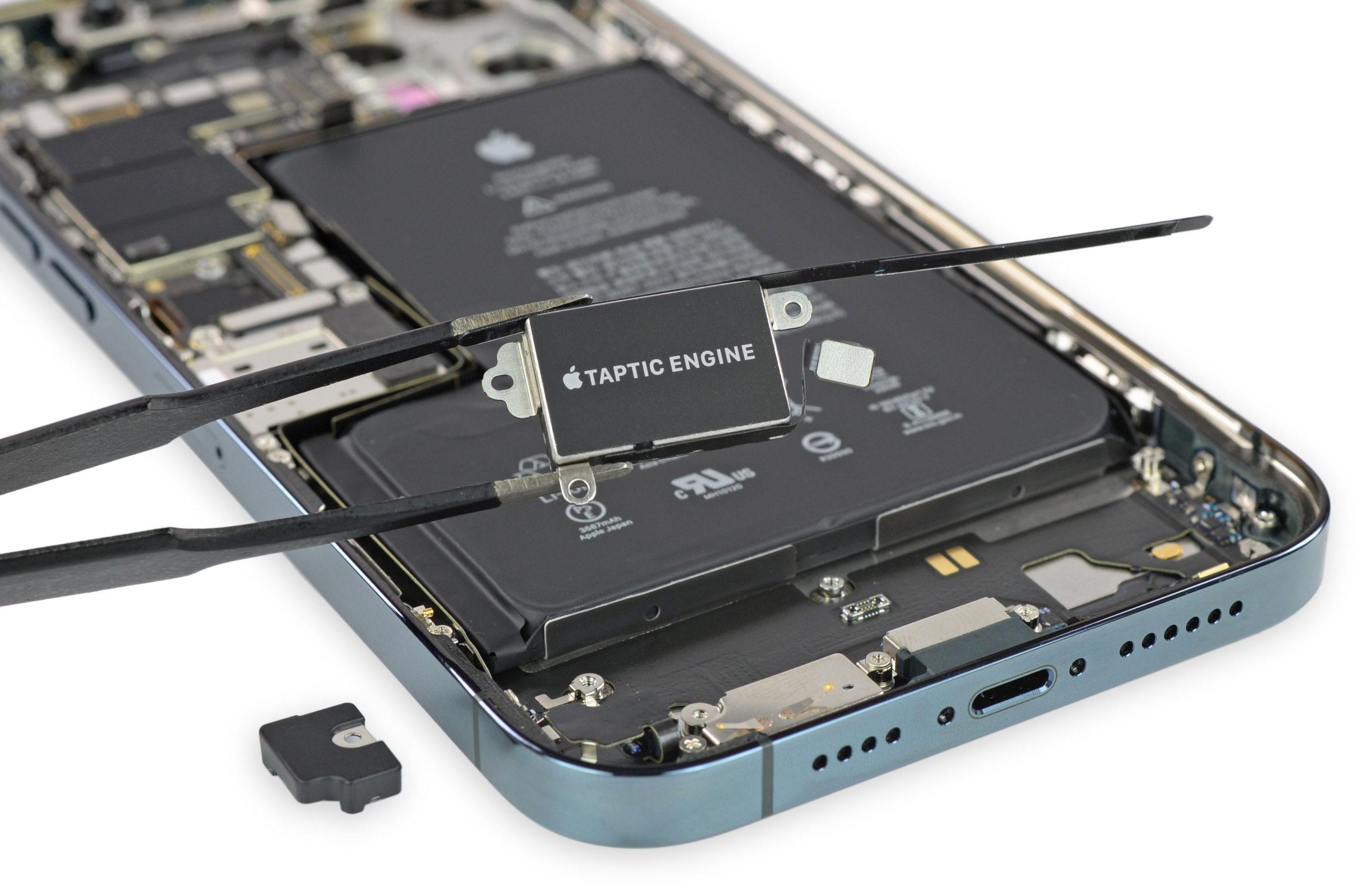Motor háptico del iPhone 12 Pro Max