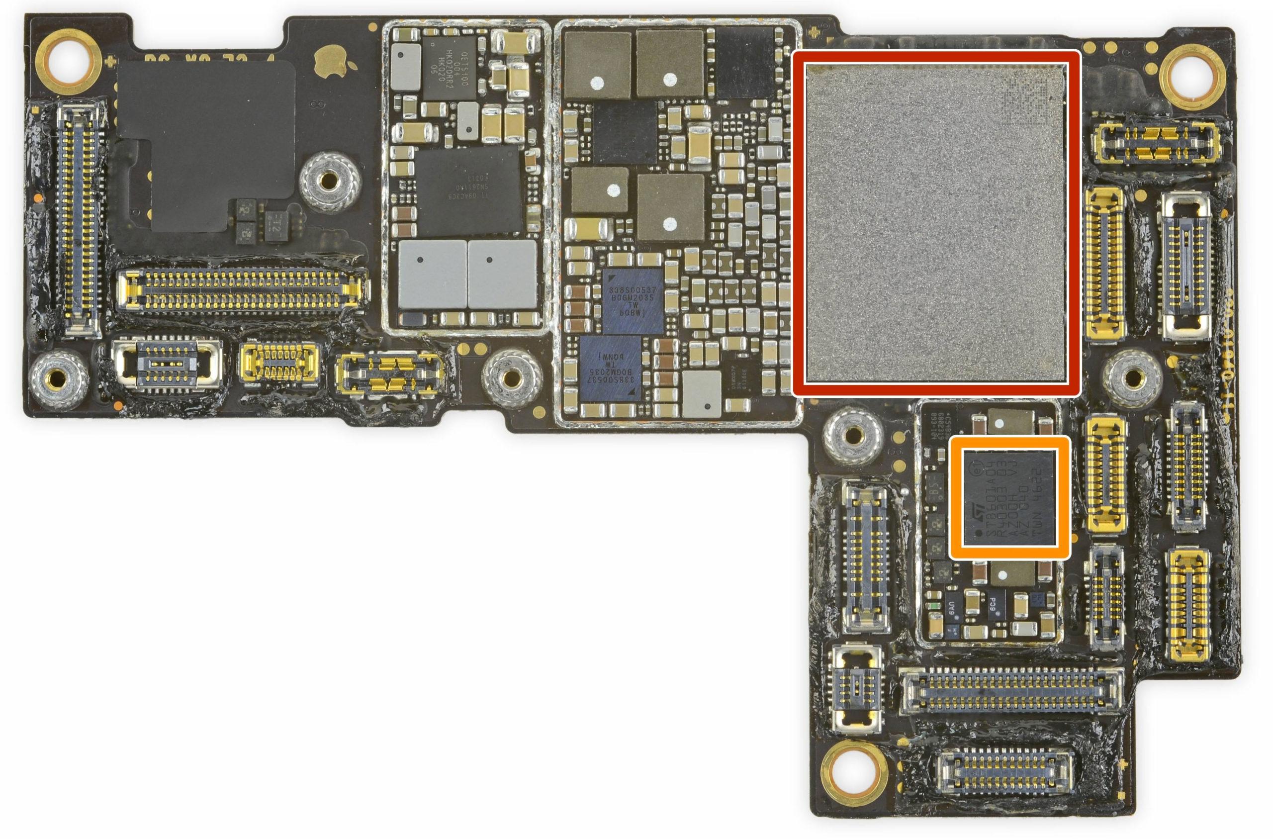 Placa base del iPhone 12 Pro Max