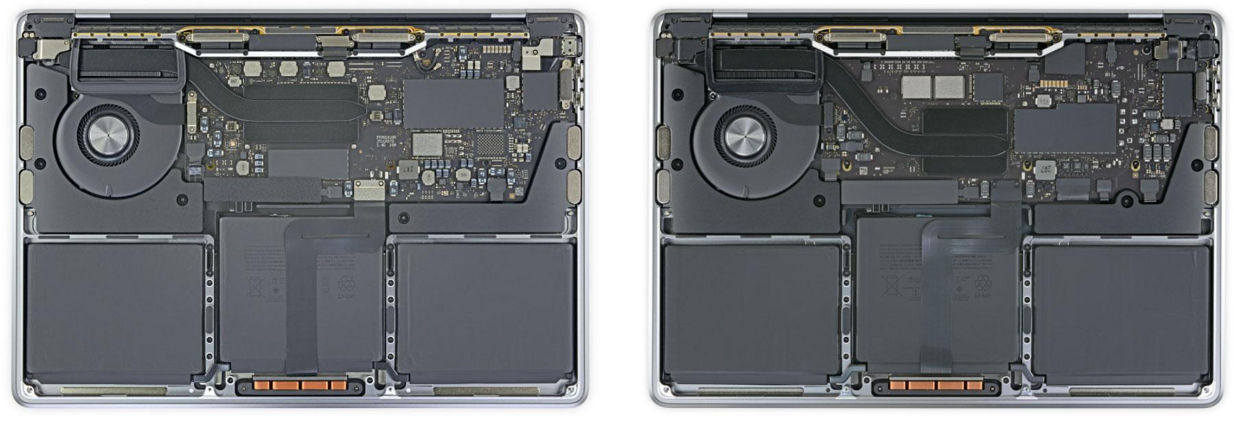 MacBook Pro con CPU x86 de Intel y M1 ARM de Apple