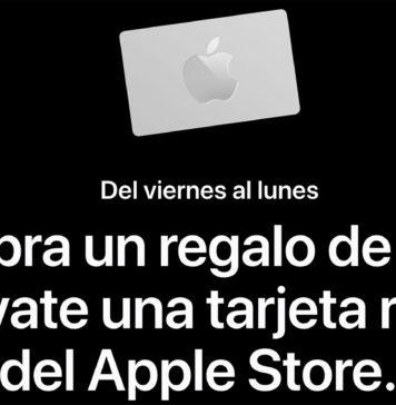 Tarjeta regalo de Apple en Black Friday