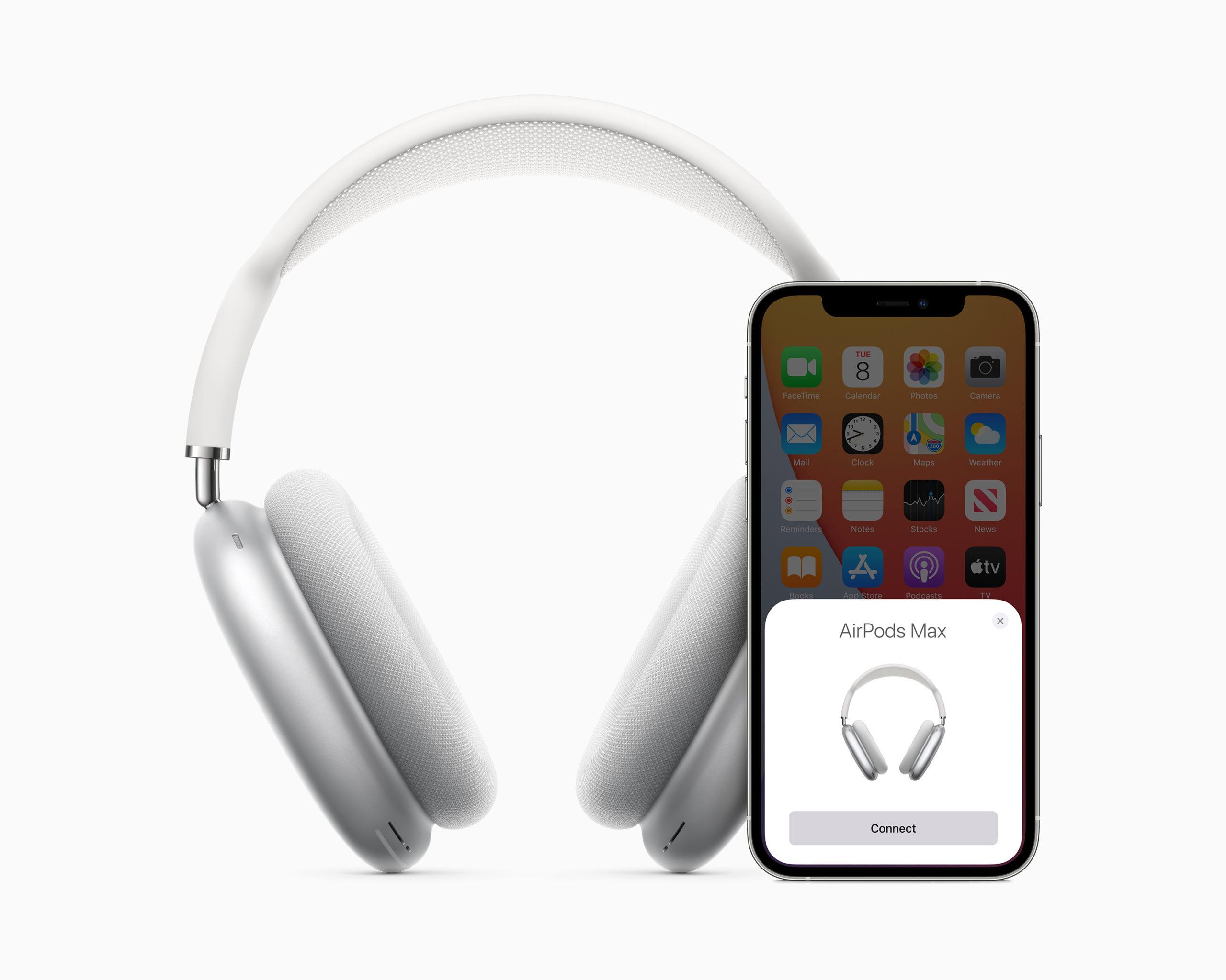 AirPods Max sincronizados con el iPhone