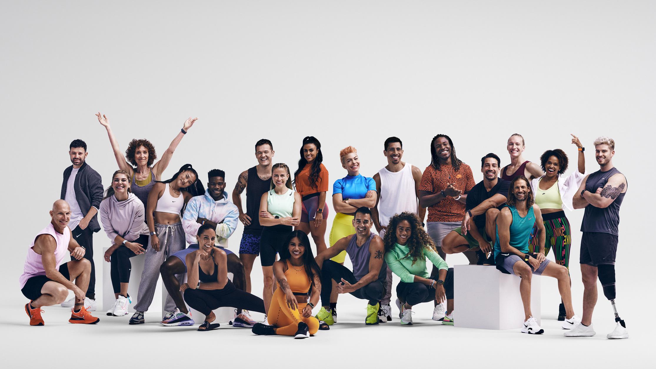 Entrenadores de Fitness+