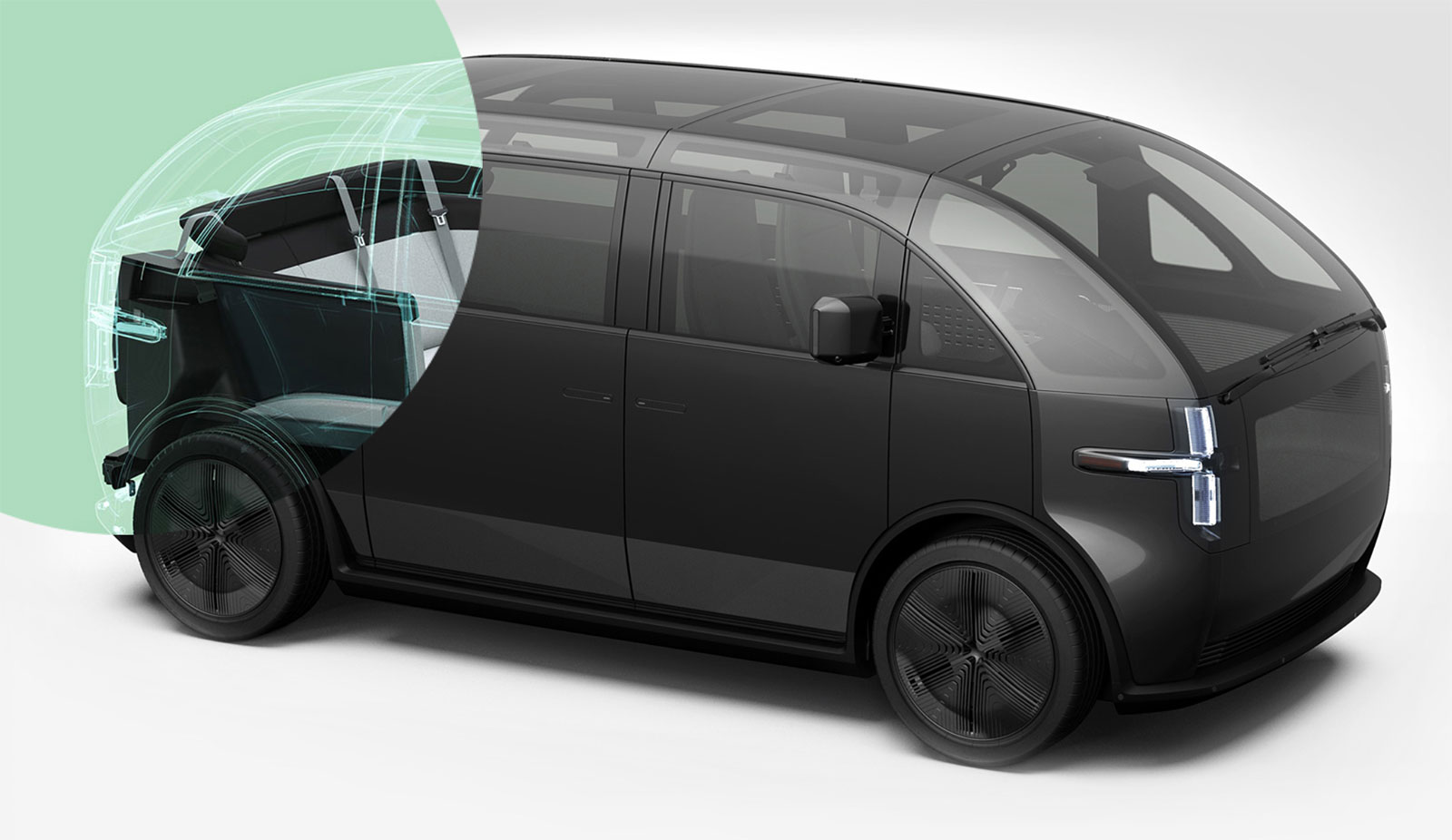 Diseño de vehículo de Canoo