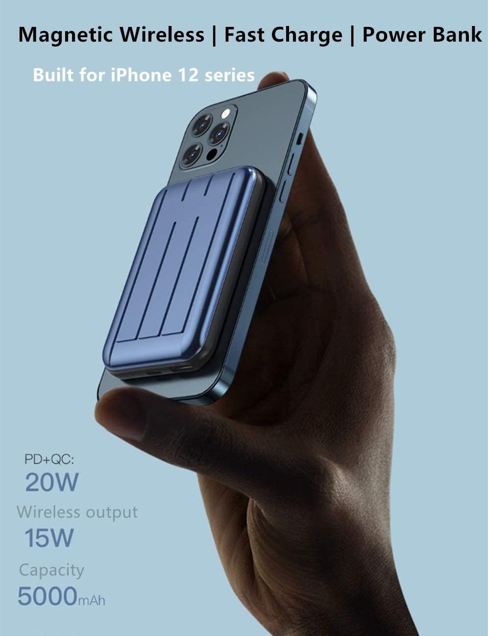 Batería externa para iPhone que se acopla con MagSafe