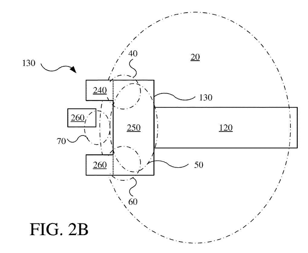 Imagen de una patente de Apple relacionada con gafas de realidad virtua