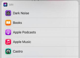 Aplicaciones seleccionables como servicio de música por defecto