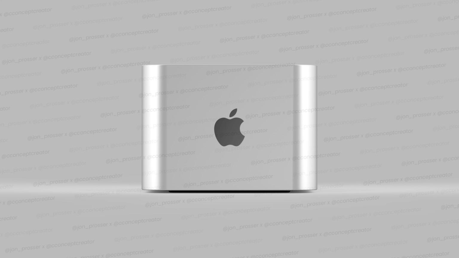 Concepto de diseño de Mac Pro mini