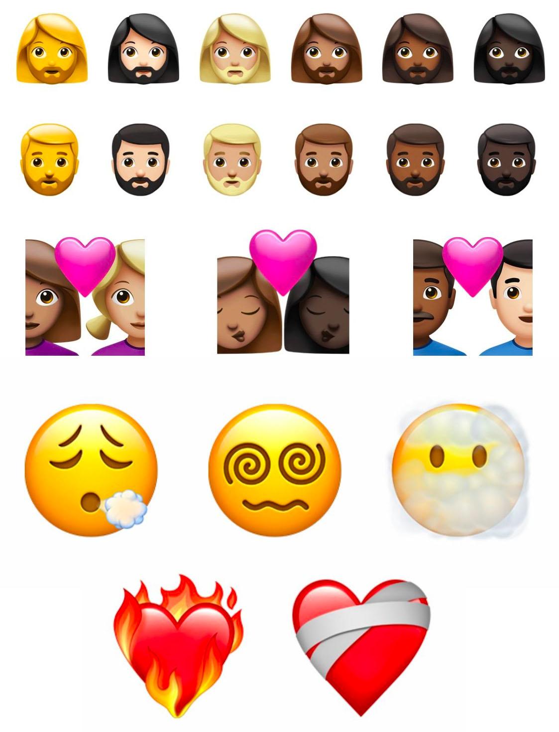 Nuevos emojis de iOS 14.5