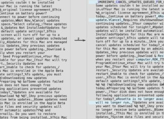 Menciones a Rosetta en macOS 11.3
