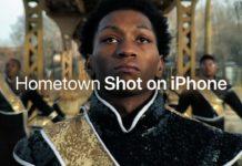Vídeo Hometown, Fotografiado con un iPhone