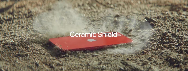 Ceramic Shield o escudo cerámico del iPhone