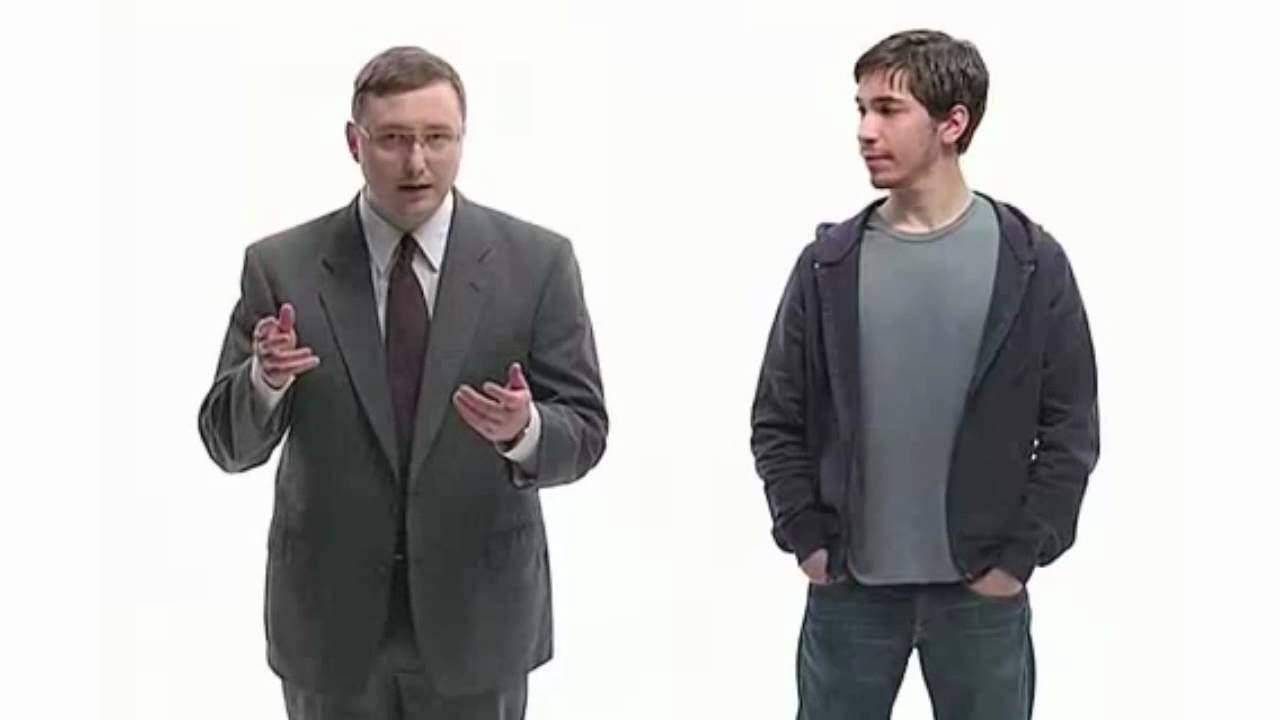 Justin Long en el anuncio de Get a Mac