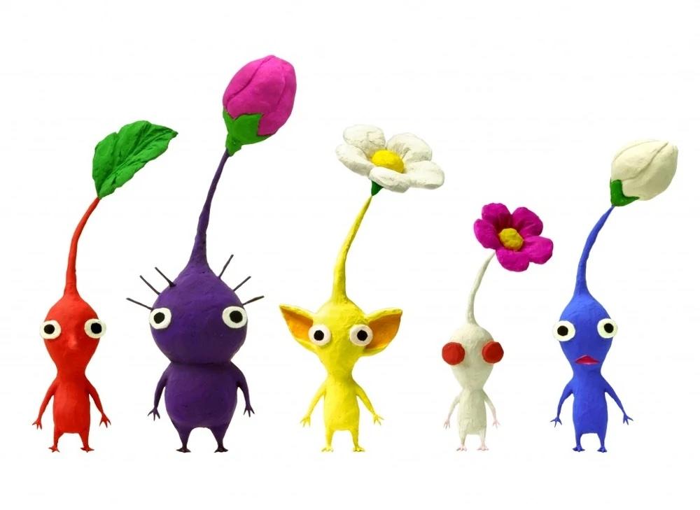 Personajes de Pikmin