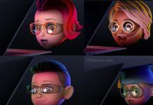 Memojis con gafas del anuncio de la WWDC 2021