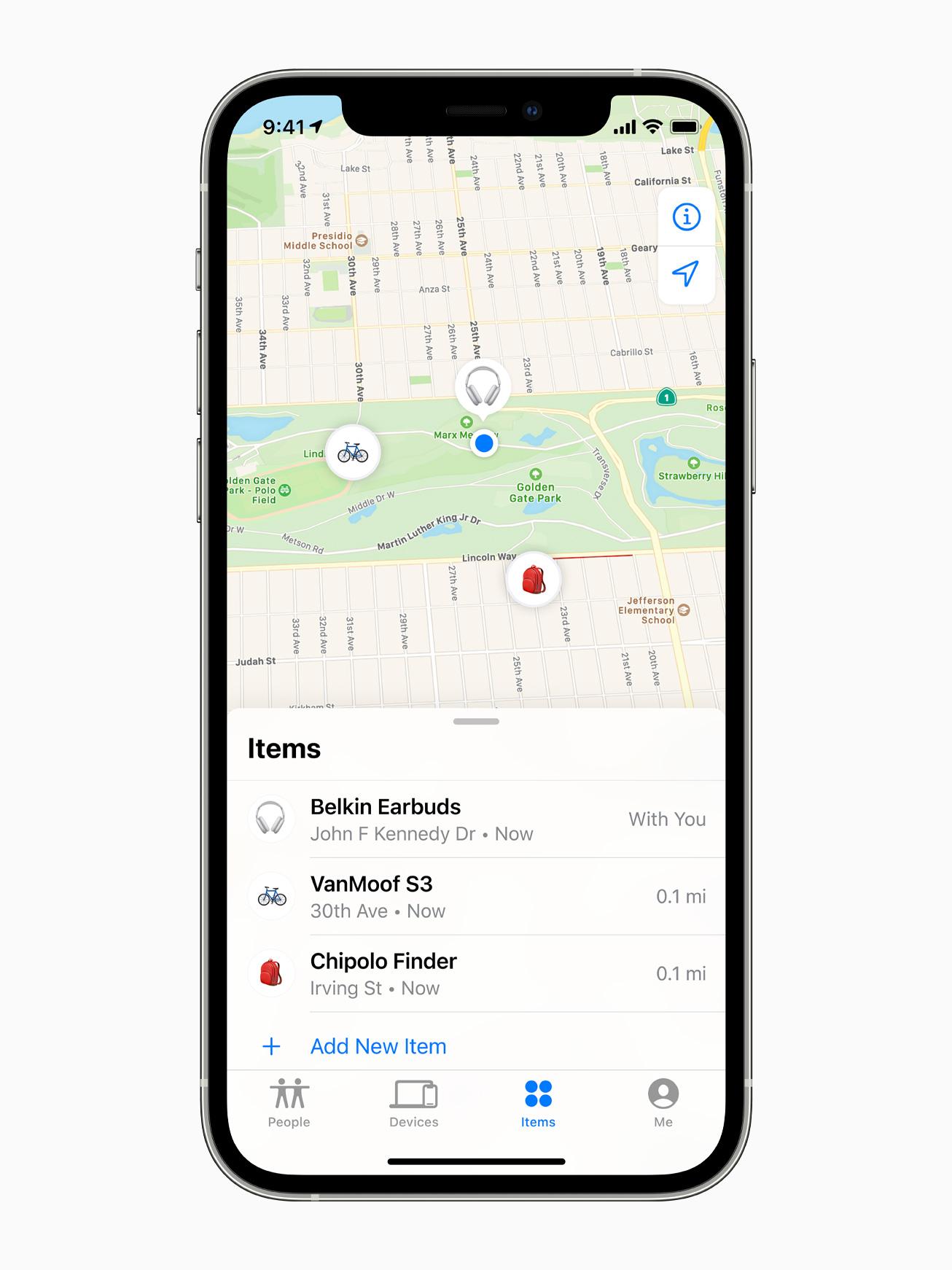 App de Buscar encontrando productos de terceros