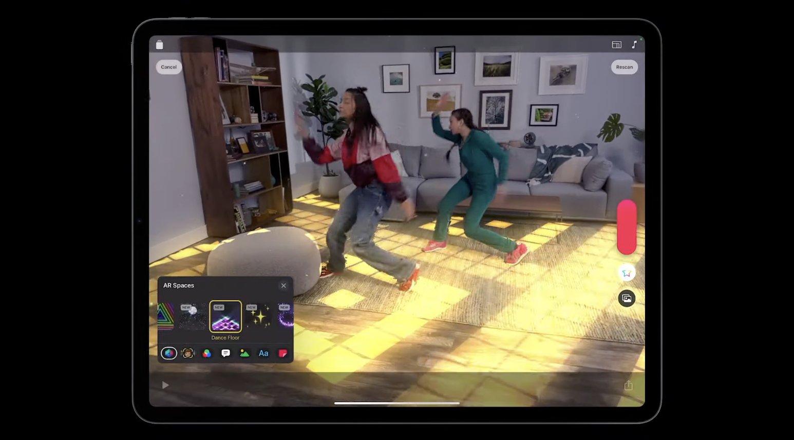 Realidad aumentada con el iPad Pro M1