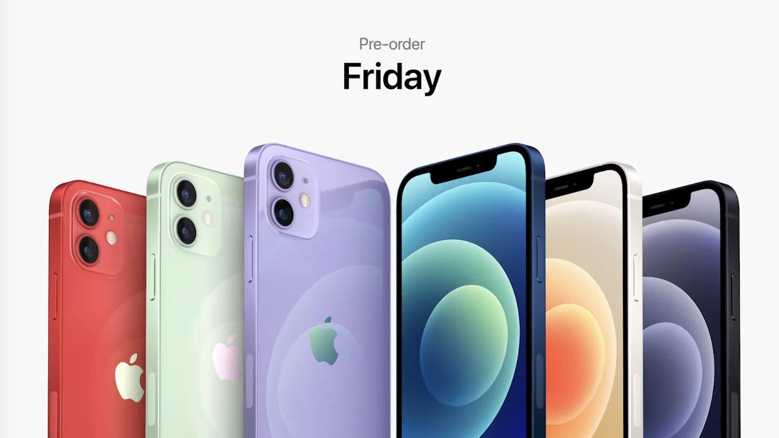 iPhone 12 de color morado, violeta, lila, o como quieras llamar tú a ese color