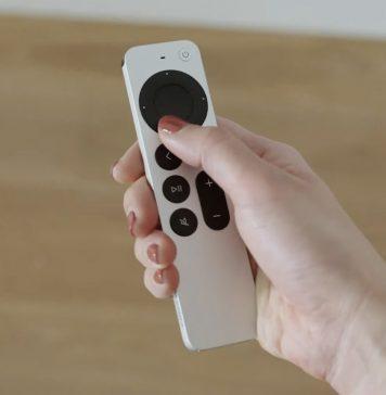 Nuevo mando a distancia del Apple TV en abril 2021