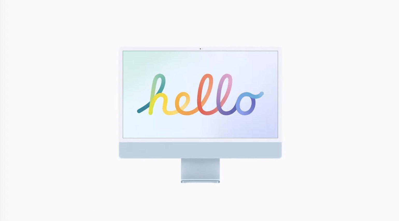 iMac M1 hello