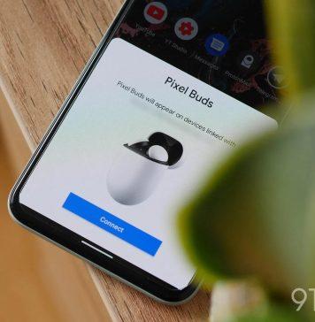 Fast Pair en Android, con una interfaz muy similar a la de iOS