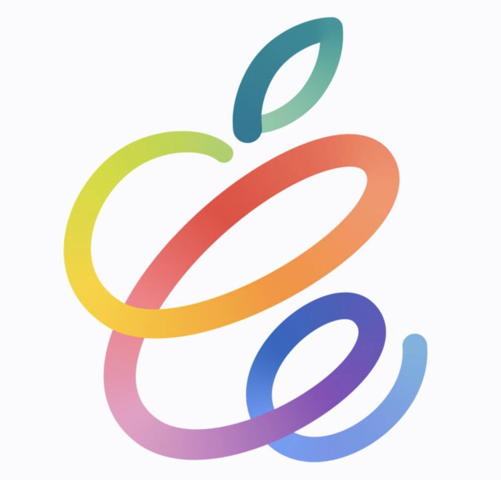 Logo del evento de Apple de la Keynote de abril 2021
