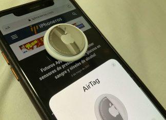 AirTag configurándose sobre un iPhone