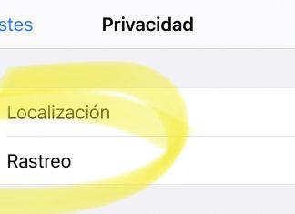 Opción de rastreo entre Apps en la App de Ajustes