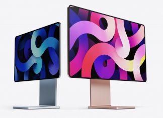 Concepto de diseño de iMac de colores