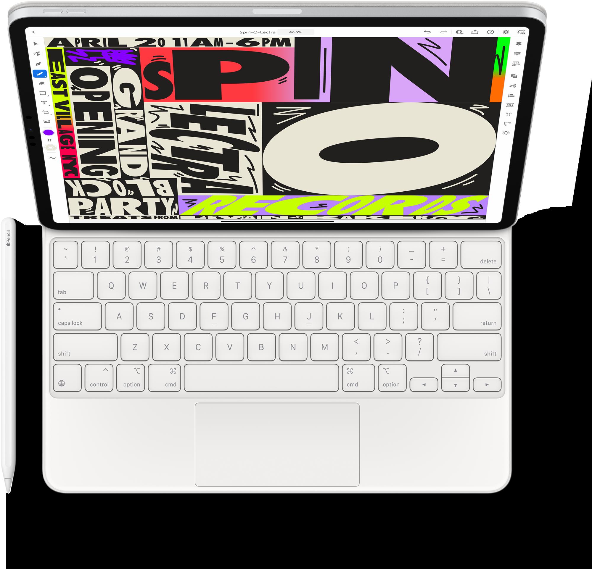 Smart Keyboard Folio en blanco