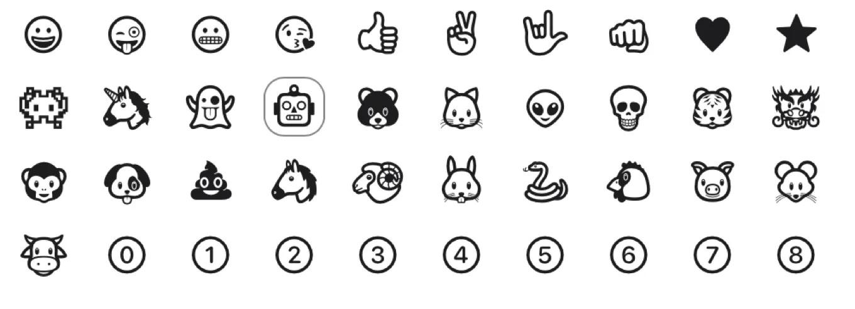 Emojis para los AirTags