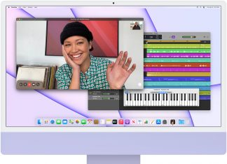 iMac Apple Silicon morado