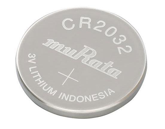 Batería de botón CR2032 del fabricante japones Murata