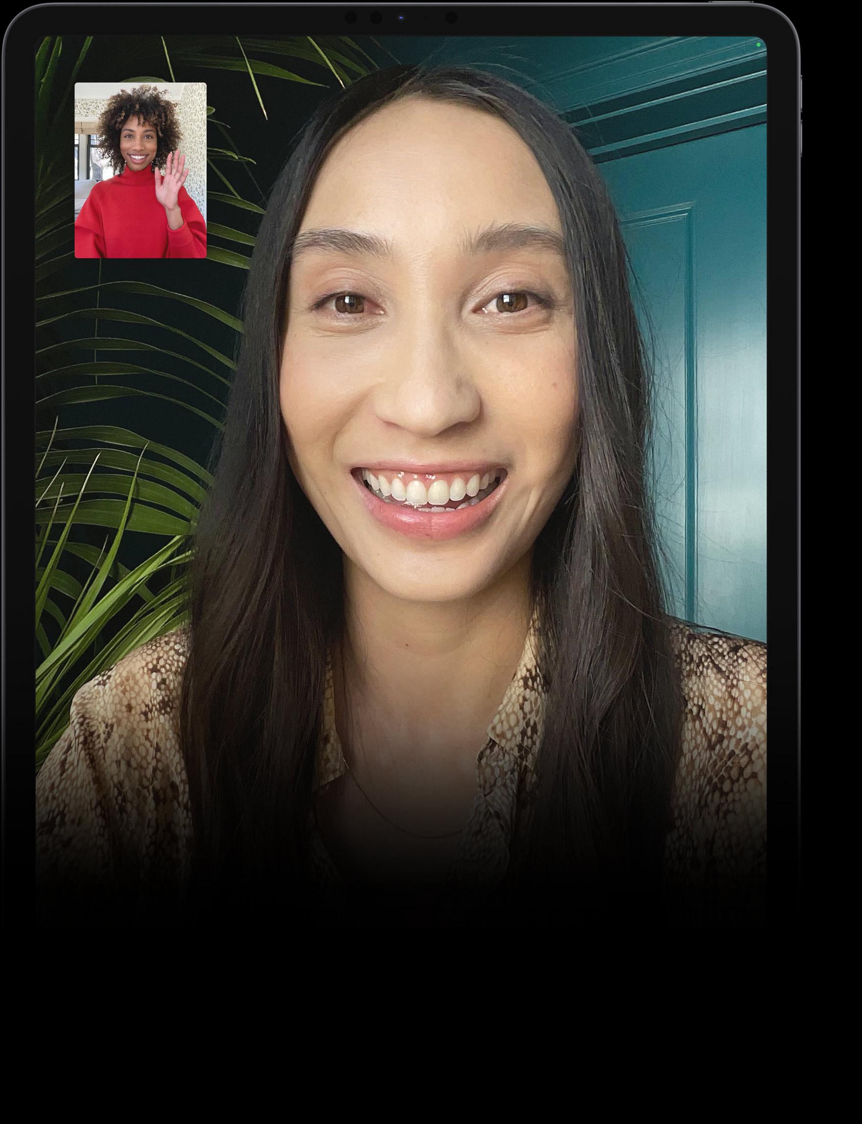 FaceTime en el iPad Pro