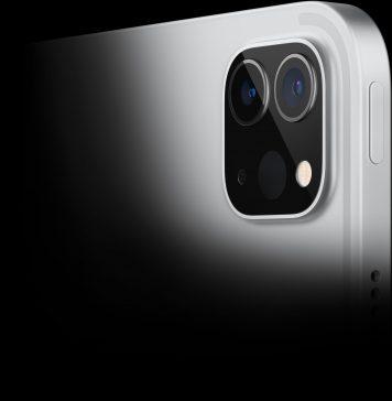 Cámara trasera del iPad Pro con M1