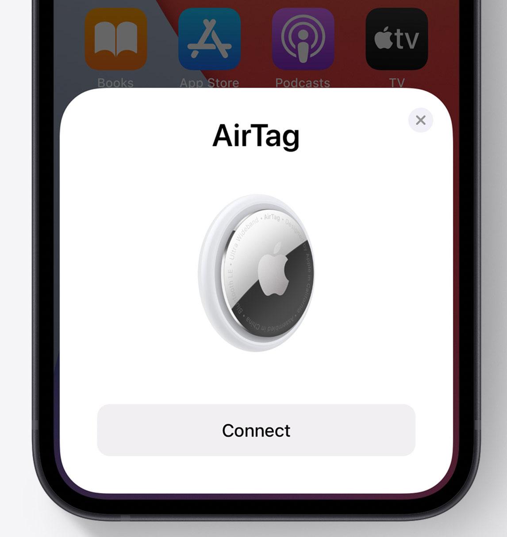 Emparejando AirTags con el iPhone