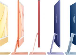 iMac Apple Silicon en siete colores