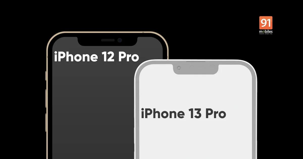 Así se espera que sea la solapa de la pantalla del iPhone 13